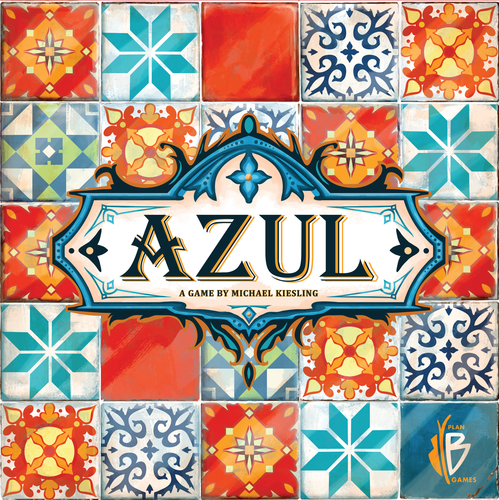 4) Azul - A beautiful abstract family game where you collect sets of tiles to create your art.Current BGG Rating: 7.9