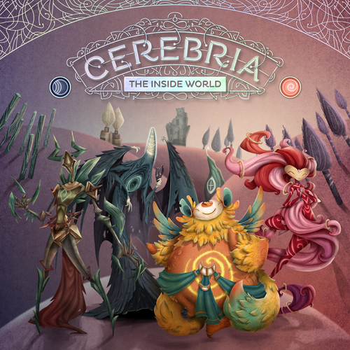 2) Cerebria: The Inside World - Oh hey look, it's a more grown-up version of Inside/Out! The art is beautiful and the mini-figs look like something I would want to collect. You fight to have the most influence, impacting the fully grown identity. This concept is such a great idea and I will definitely be picking this up for my personal collection at release! Wish I had caught the Kickstarter!