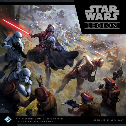 5) Star Wars Legion - Heard it called the 40K killer and while I can't speak to that, the idea of developing my army out of one of my favorite universes excites me! Fantasy Flight backing this also eases any fears about this not developing and getting past the initial run.