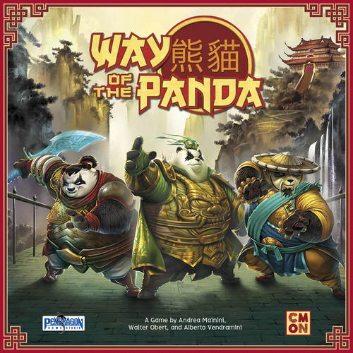 1) Way of the Panda - Pandas. This is a game about pandas. This could be the only option to be my most anticipated tabletop game of 2018! Panda minifigs, panda art, pure 'panda'monium... all puns aside, this looks like a solid worker placement game.
