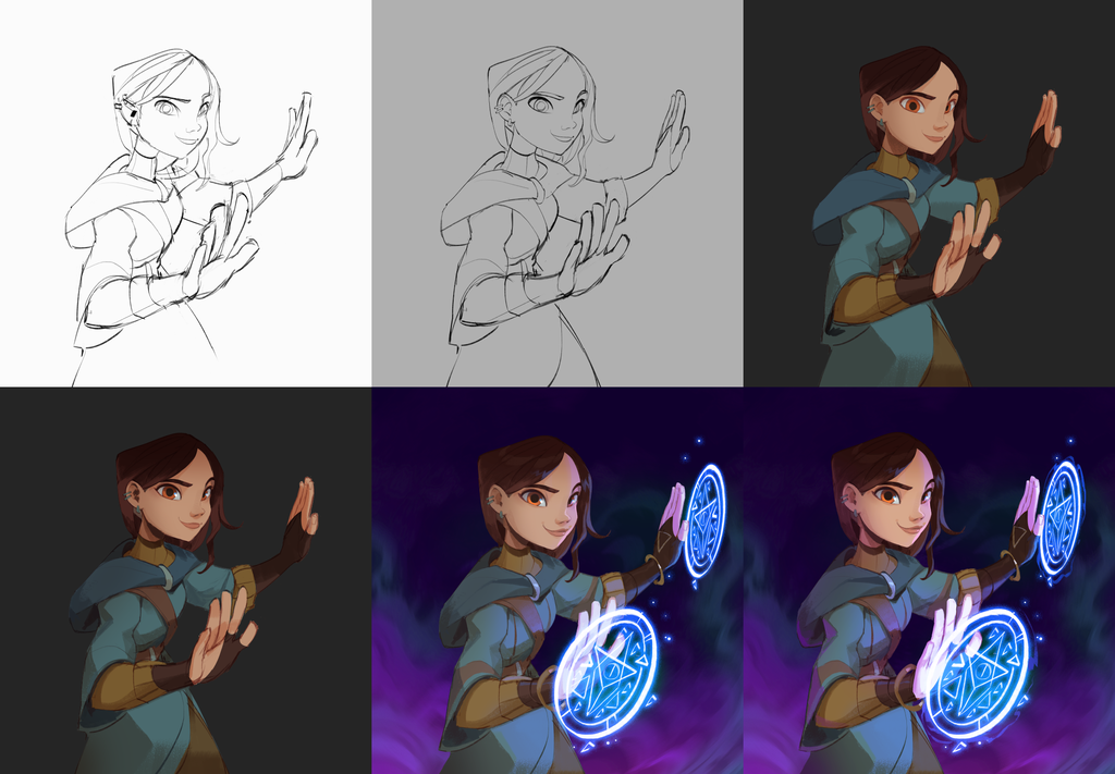 sorcerer_city_character_art_progression.png