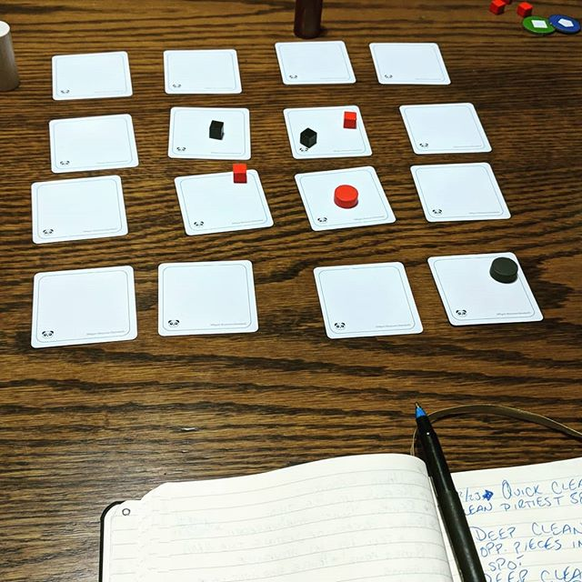 "Playtesting ""Project: Deep Clean"" on this merry Christmas Eve Eve."
