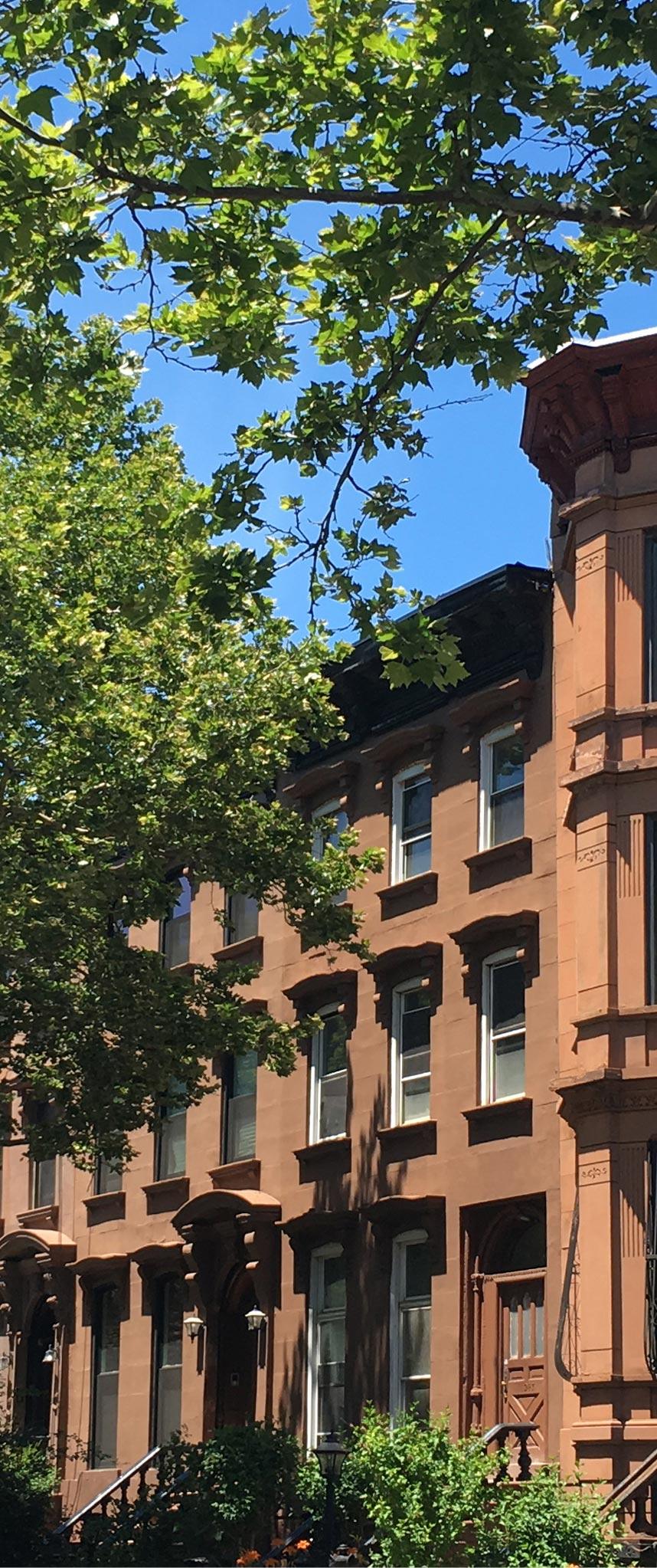 Brooklyn NY Brownstone Renovation - Street Elevation