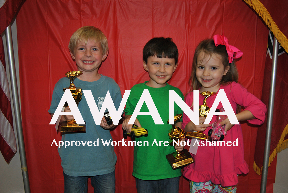 Awana meets during the school year.