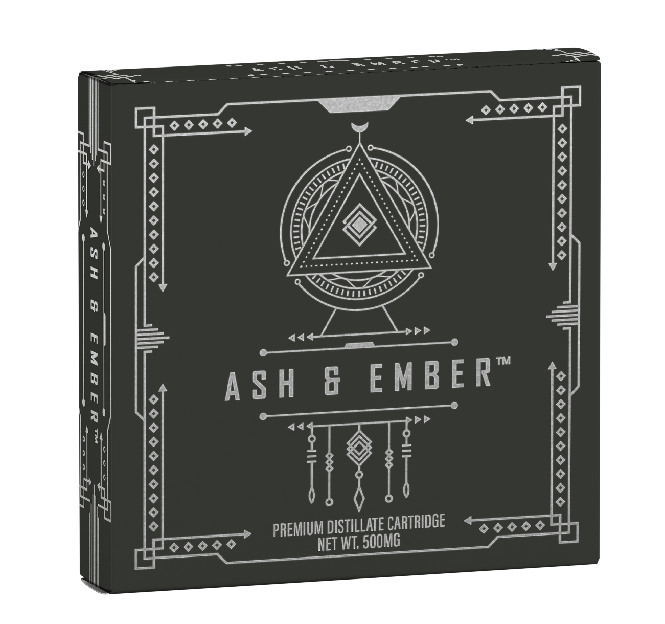 - An ideal stimulant to uplift and liberate the senses, Ash & Ember vapes are made of carefully selected strains for their unique creative and euphoric attributes. Special ceramic coils deliver smooth hits without burning, taking your mind, body and soul on a journey of psychedelic revelations.