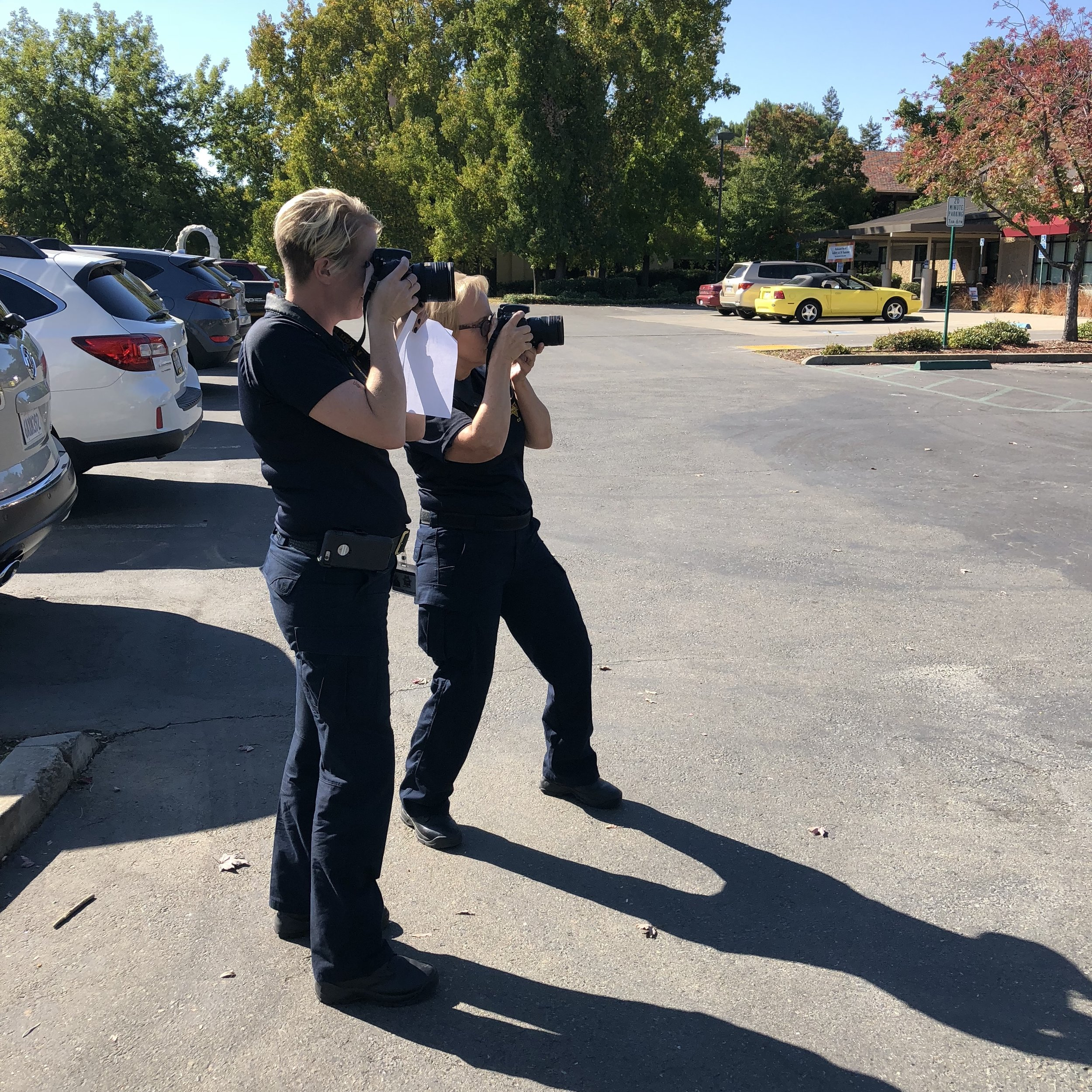 BASIC CRIME SCENE Photography - This 40 hour course is designed for forensic professionals & law enforcement officers with beginner to intermediate experience. Course material and practical exercises focus on camera operation and proper crime scene photo composition. Topics include shooting in manual, evaluation exposure, using flash, crime scene photography, vehicle photography, equipment, and more.