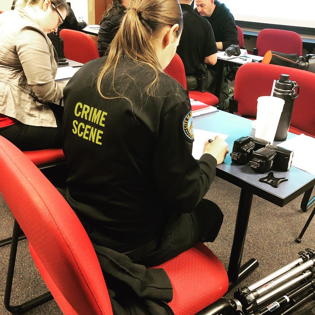 Forensic science training - Our college-style training courses challenge students so they are better equipped for real world scenarios.
