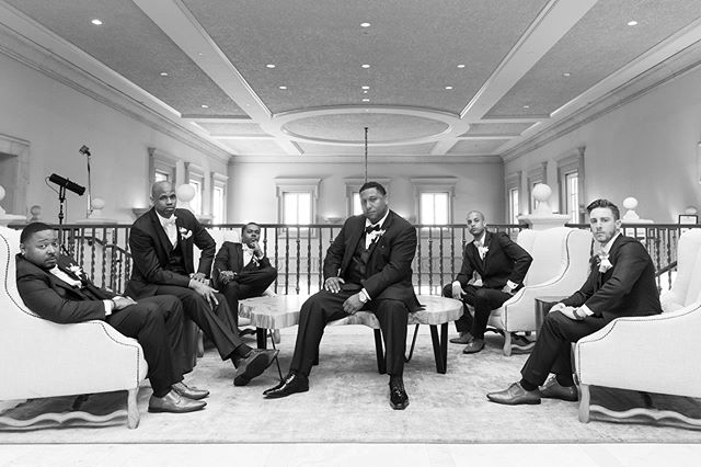 GQ crew 😎 #allora #alloraeventdesigns 📸 by @justintertainment #groomsmen #crew #wedding #weddingplanner #lovewhatido #rubyhill #pleasanton