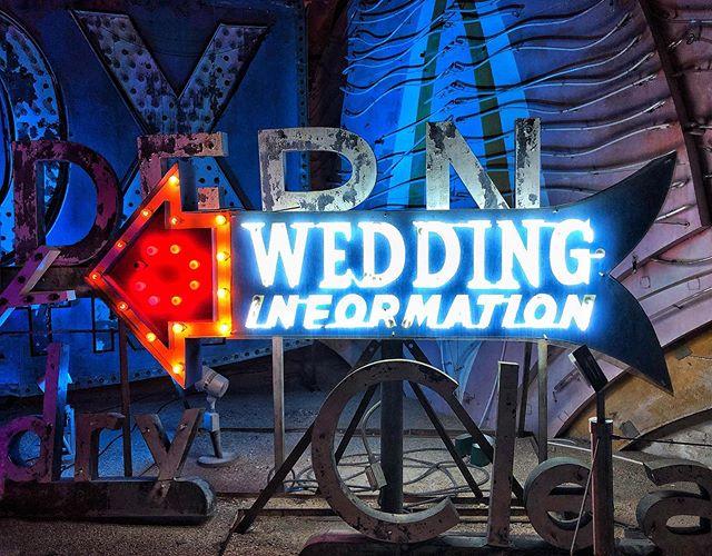 Got to love the lights of Vegas #allora #alloraeventdesigns #theneonmuseum #lasvegas #weddinginformation #weddingplannerslife