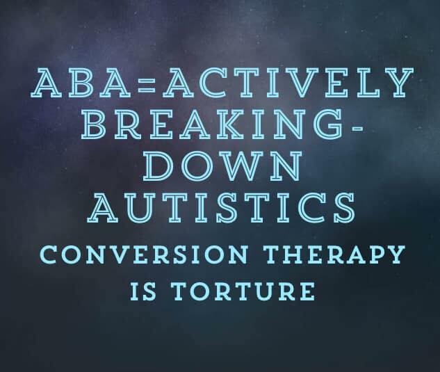 From Autistics and Allies Against ABA Ireland