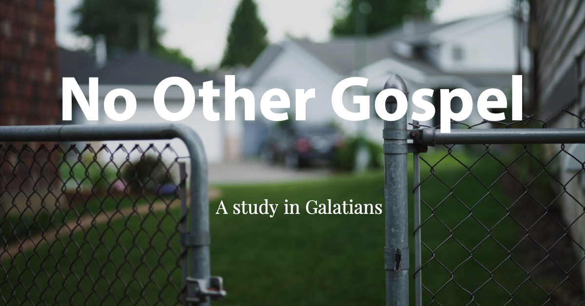 - In 2019 we began a series on Paul's letter to the Galatians.