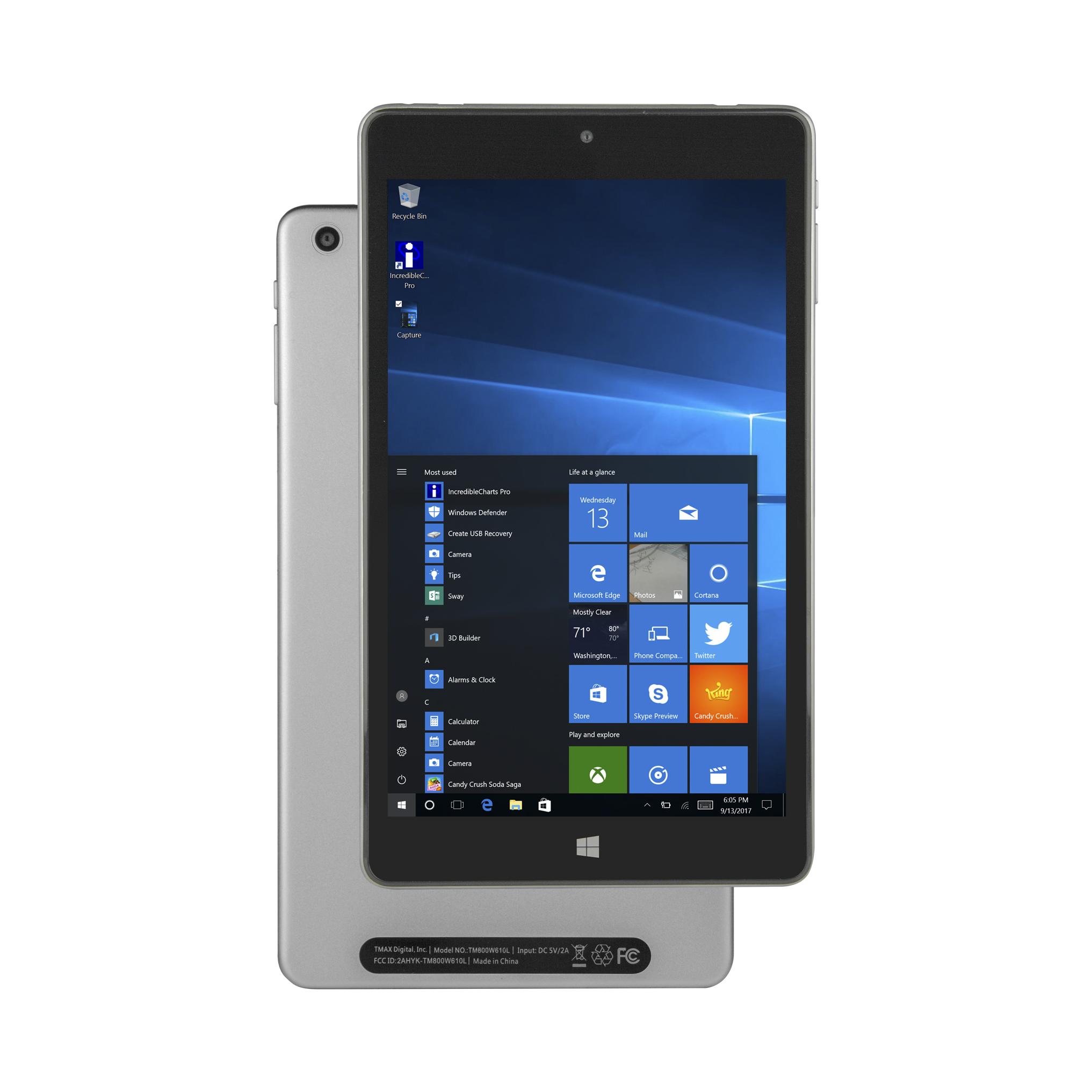 Solo 8 Windows Pro - Model Number: TM800P610L