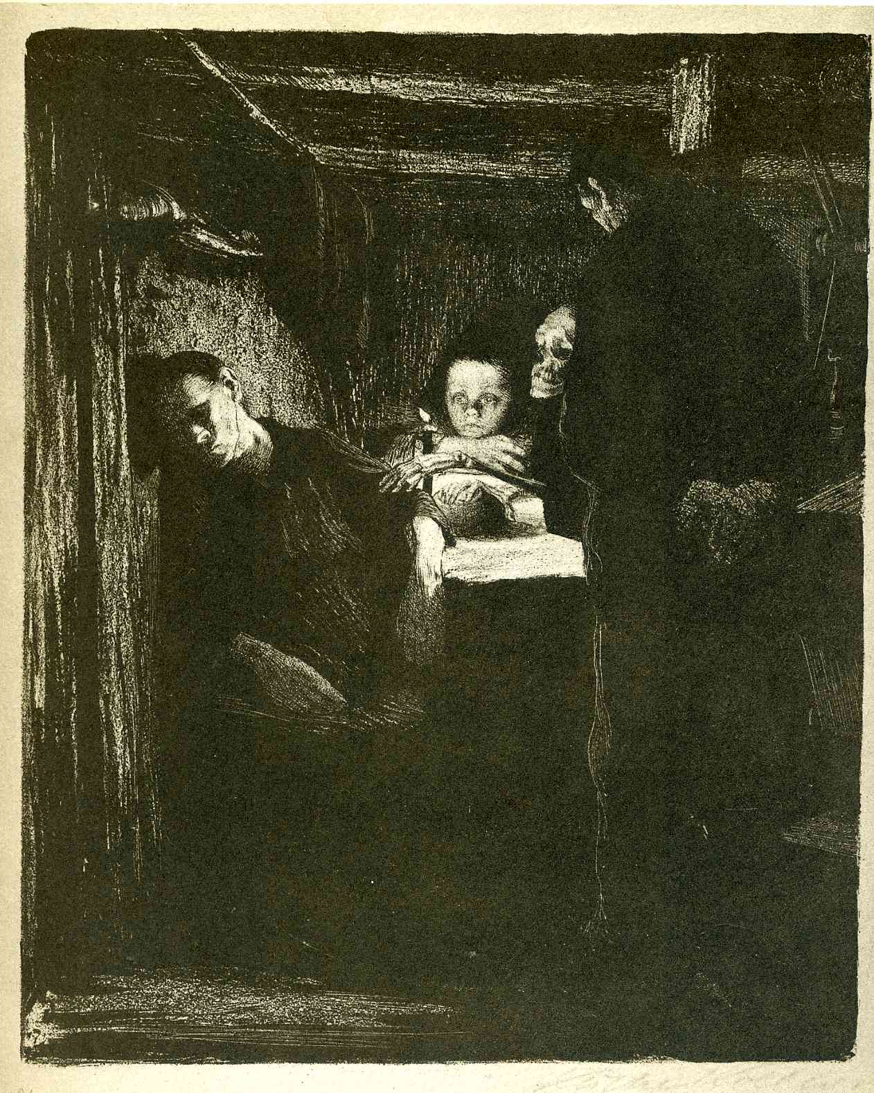 Death (The Weavers Cycle, 1894 - 98, 2 of 6.)