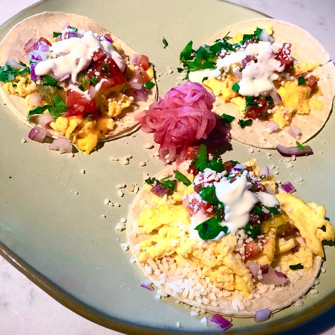 Spot-on breakfast tacos