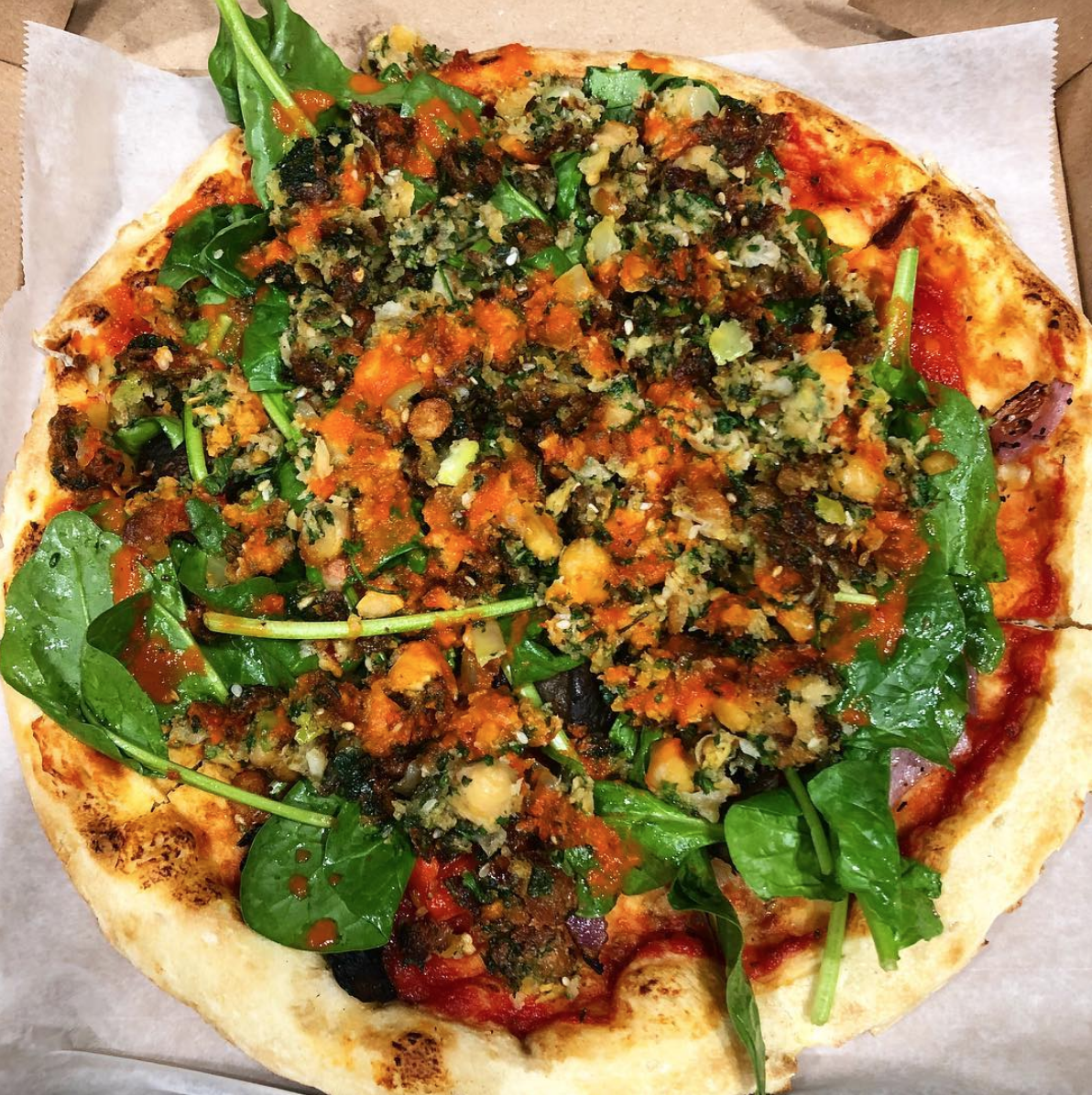 Brogan Vegan Pizza
