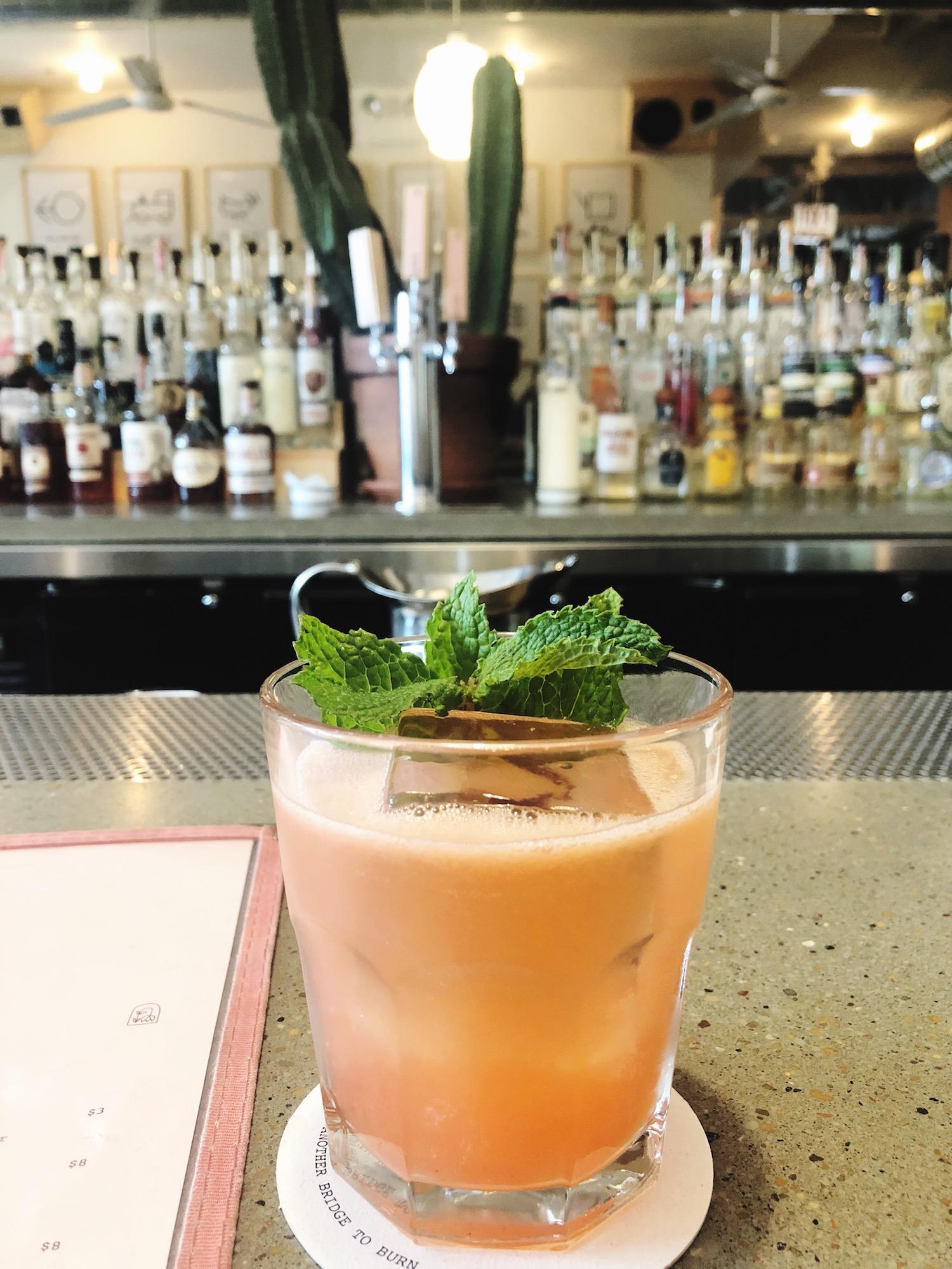 Cocktail via Lonesome Rose