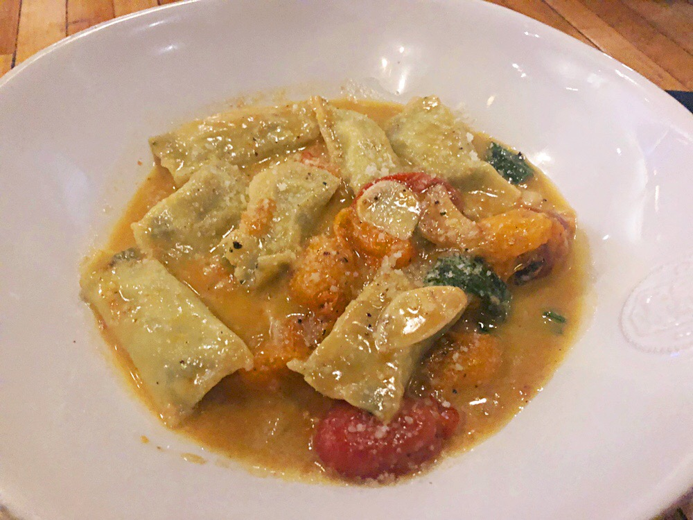 House Made Ricotta & Spinach Agnolotti