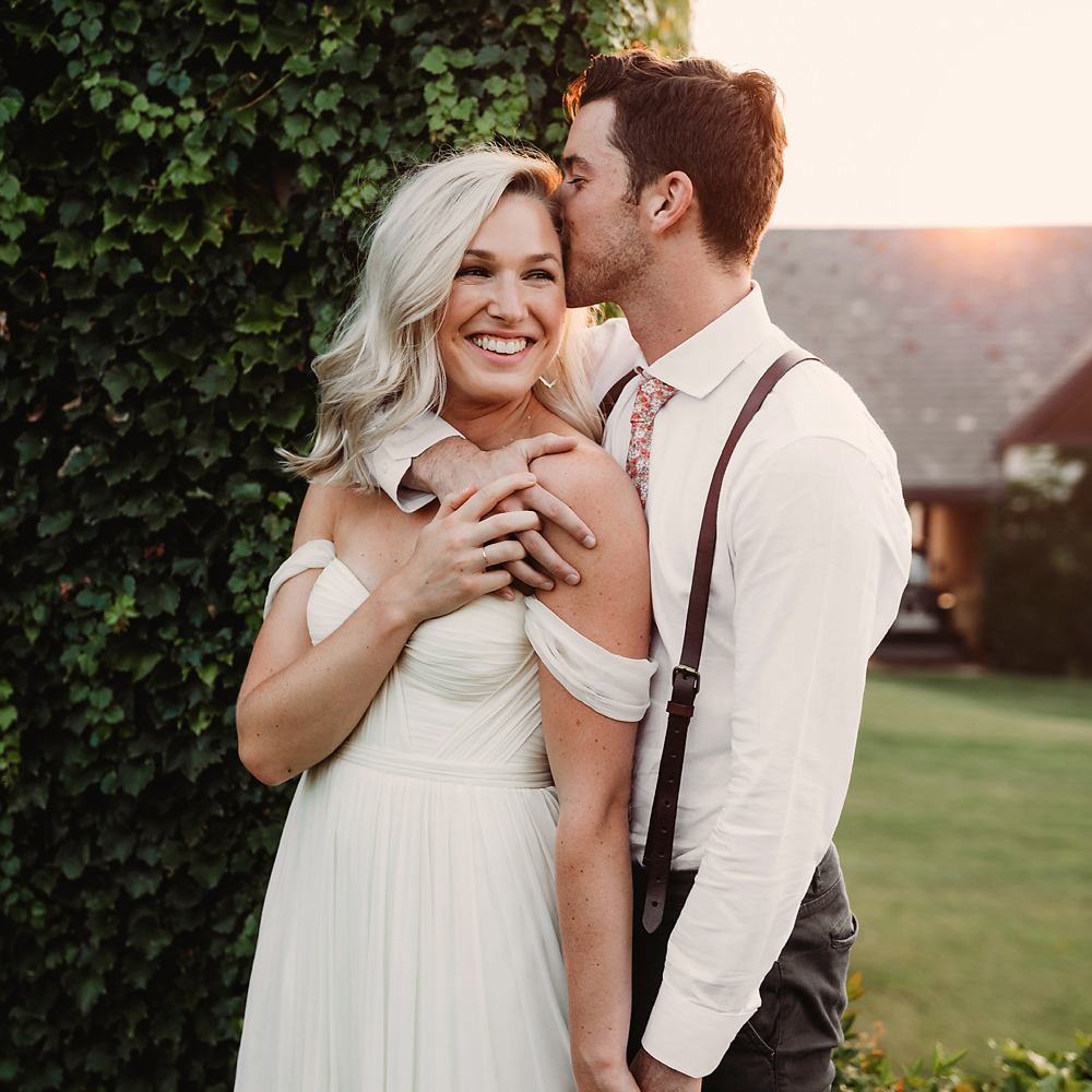 Wedding Couple at the The baumberhof in OKC