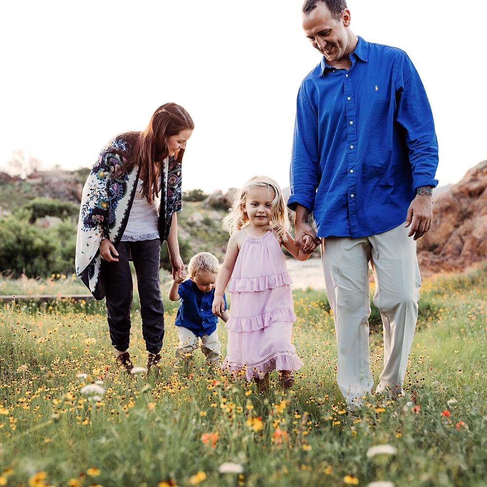 Wichita mountains adventure family session, Lawton, OK with Kara Cheek Photography.