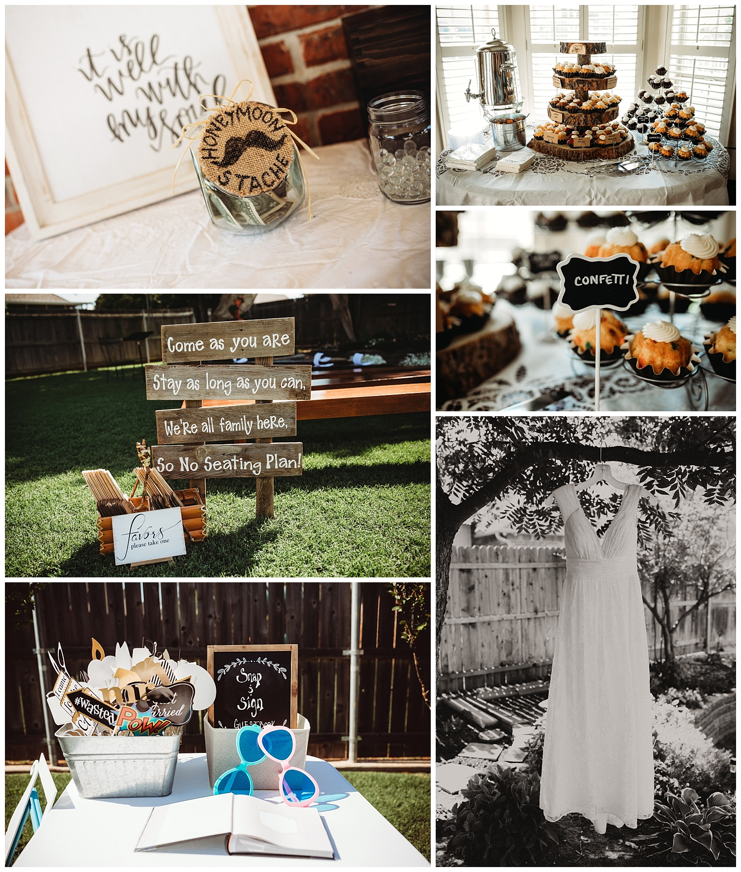 I love wedding reception details!