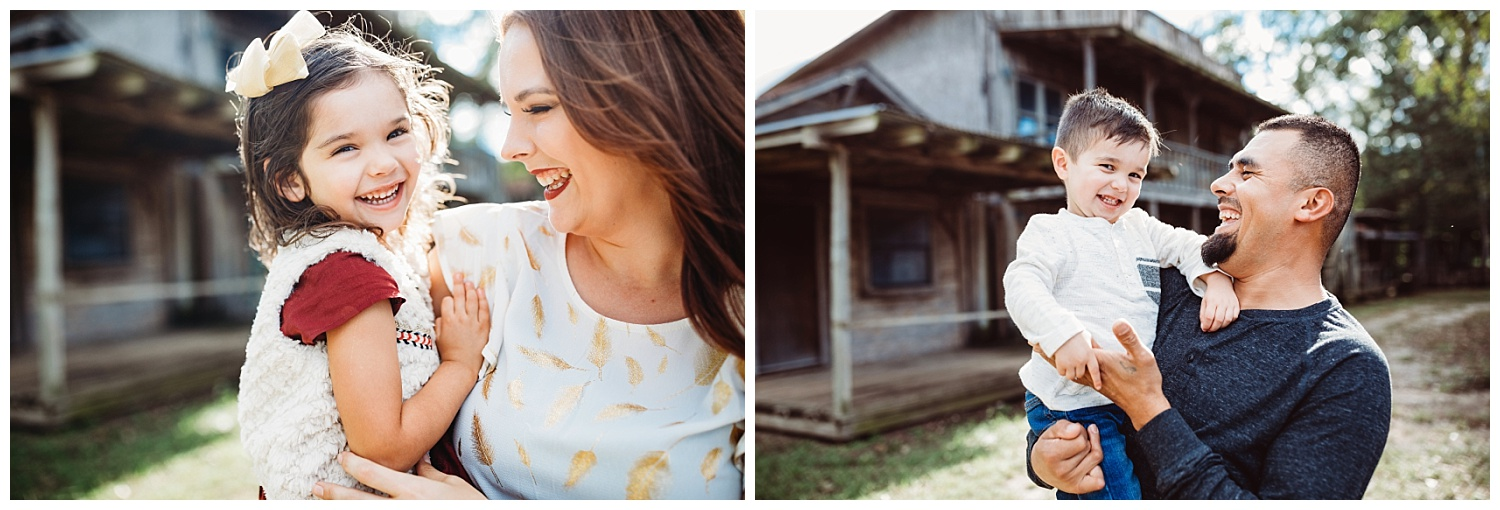 Beautiful family session in Arcadia, Oklahoma. Sweet moments with mamma and Daughter and Daddy and Son.