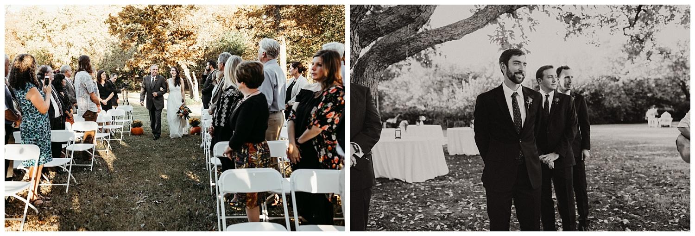 Wedding Ceremony in Edmond, Oklahoma.