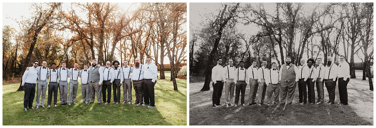 Groomsman Photos at The Springs.