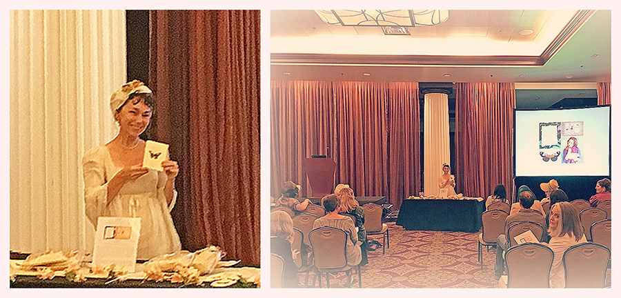 Debra Ann Miller  graciously introduced my   Quills!  Breakout Session  at the  JASNA AGM 2017 . Debra is an amazing dramatic performer of historic women figures, and a past  JASNA-GCR  Regional Coordinator and Program Director.  With special thanks to    JASNA   , Nancy Gallagher, Lynda Hall, and Jennifer Weinbrecht.