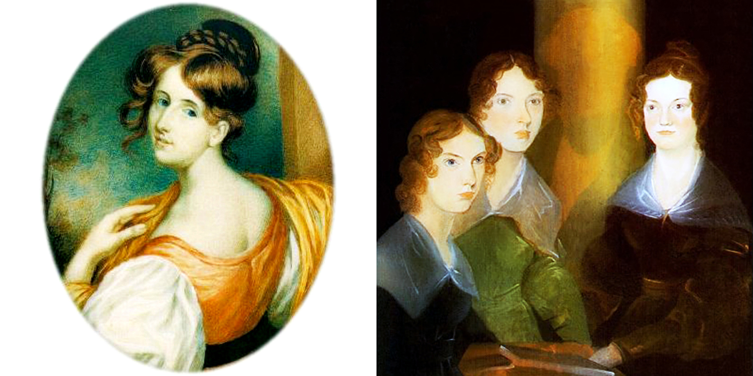 The   Quills! Haworth     and   Victorian    Editions  explore the relationship between Elizabeth Gaskell and the Brontë Sisters, while the   Quills! Classic Edition     celebrates their works among other women writers.  Elizabeth Gaskell,  1832 by William John Thomson;  The Brontë Sisters, (Anne, Emily & Charlotte),  circa 1834, Patrick Branwell Brontë, from Wikimedia Commons