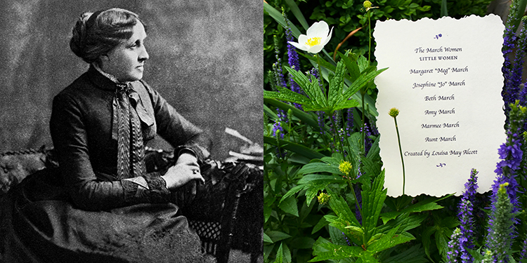 The year 2018 marks the sesquicentennial of Louisa May Alcott's  Little Women .   Quills! Concord Edition I & II   were made in her honor, while the   Quills! Classic Edition     celebrates her works among other women writers.  Louisa May Alcott,  from Wikimedia Commons.