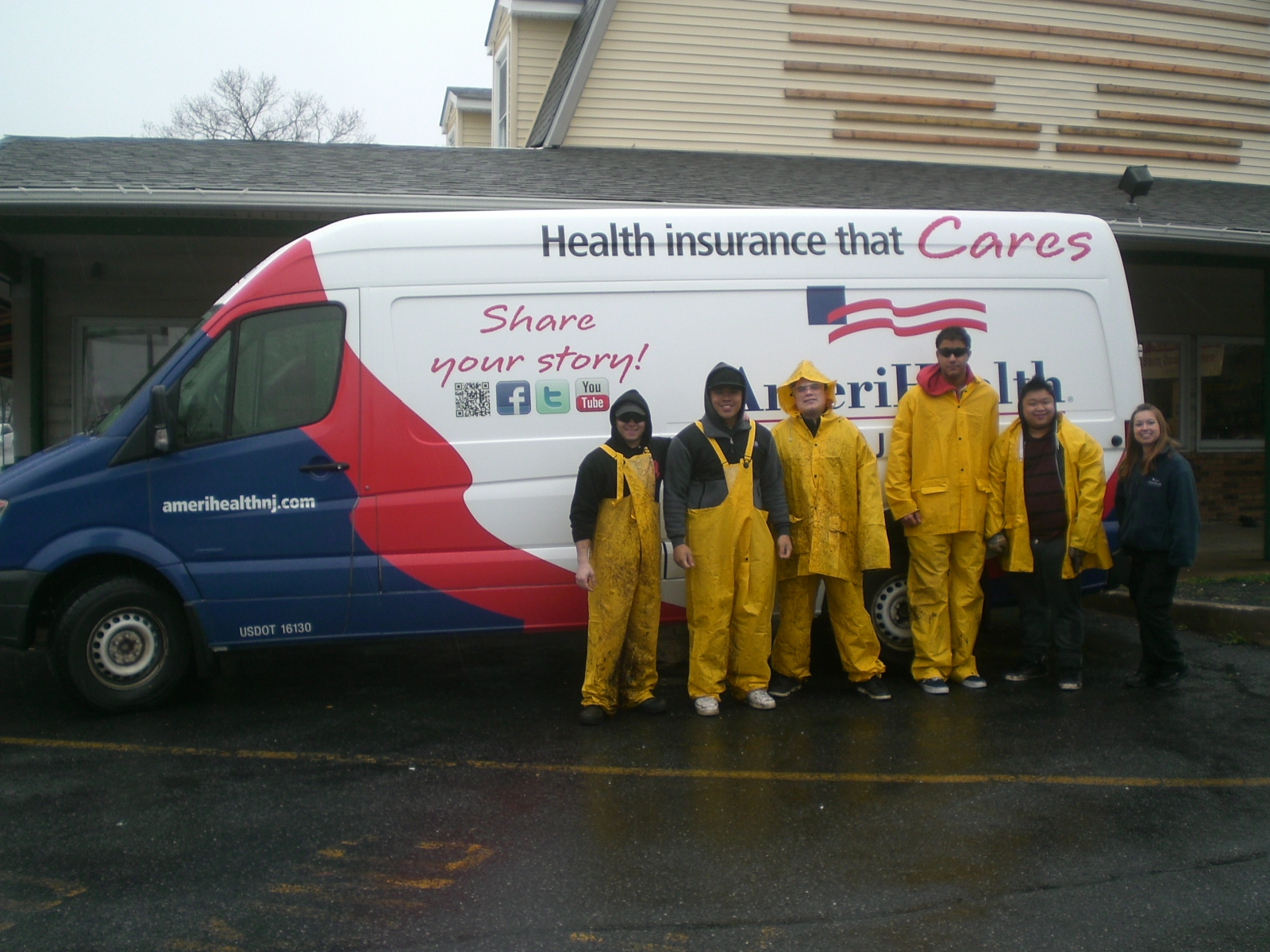 AmeriHealth New Jersey – Storm Sandy Clean-up Initiative