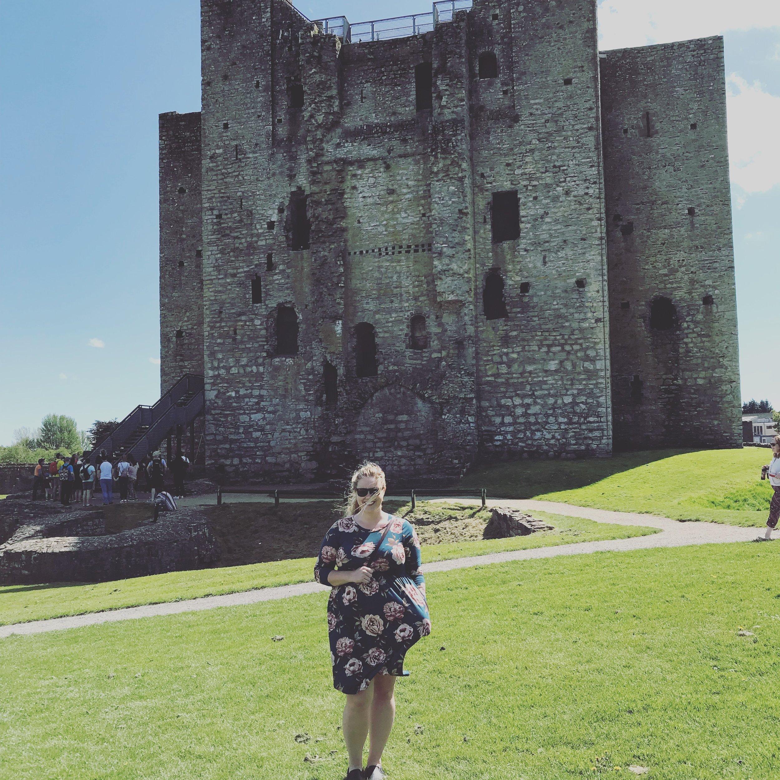 Trim Castle in County Trim