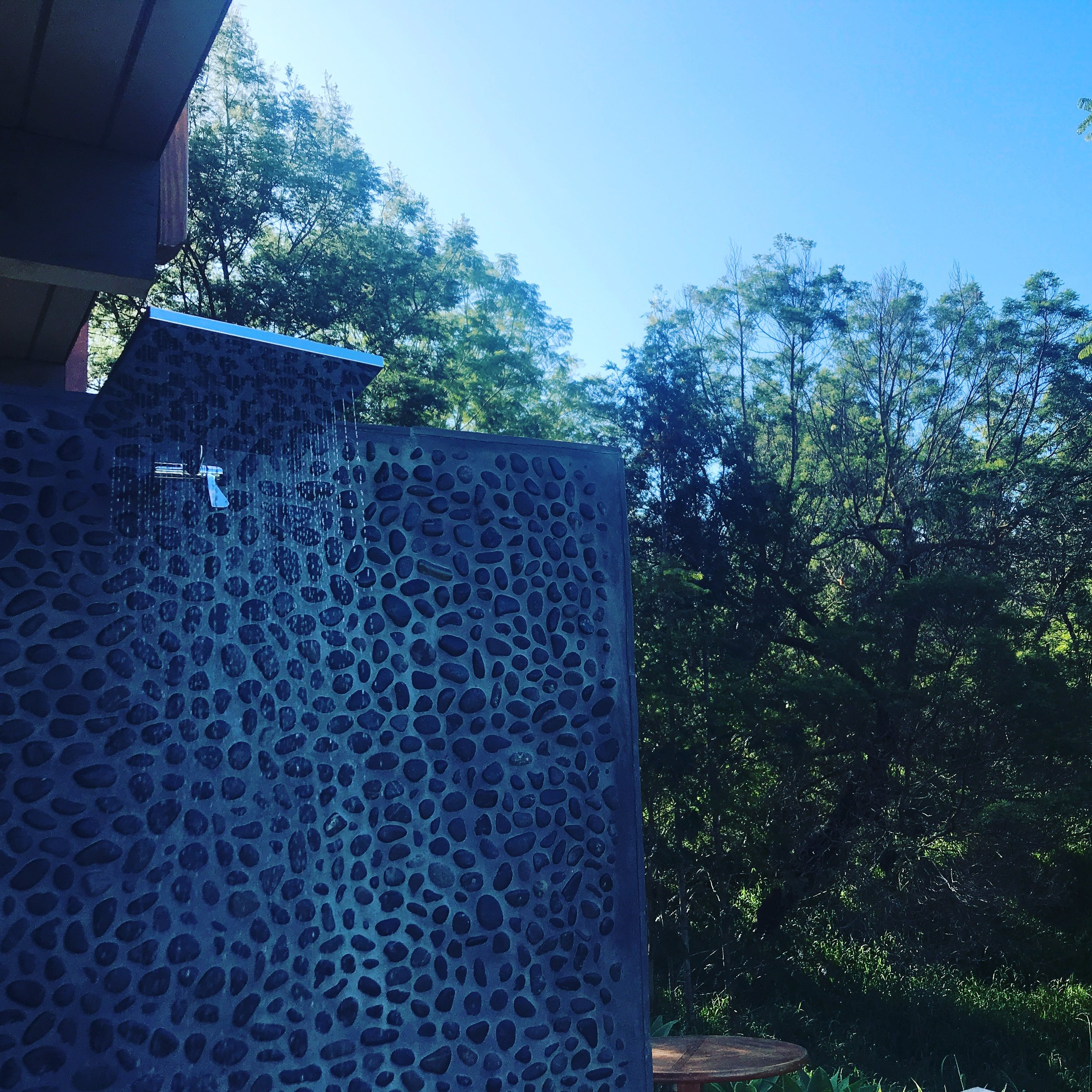 Outdoor shower...life changing