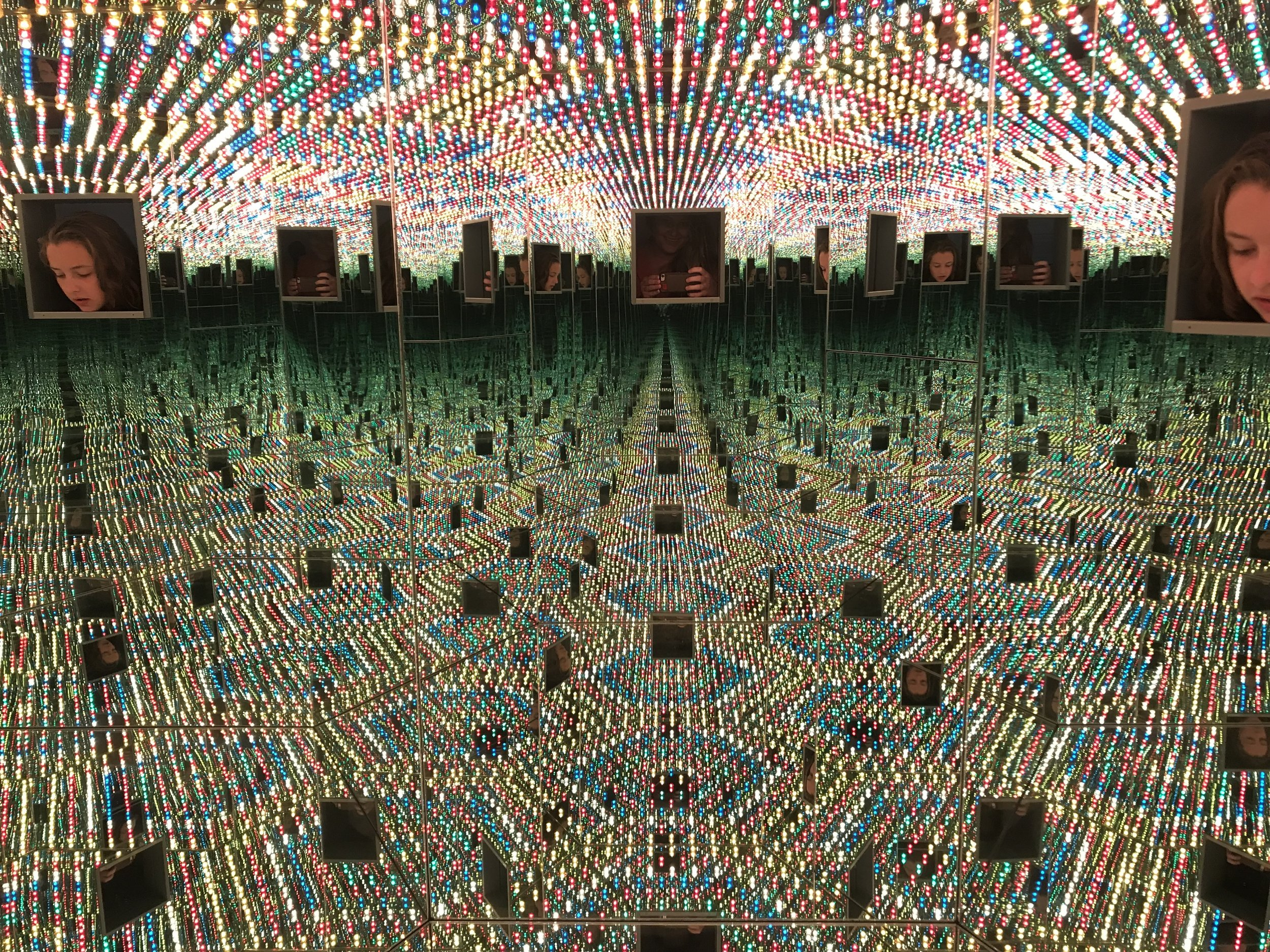 Infinity Mirrors at Cleveland Museum of Art
