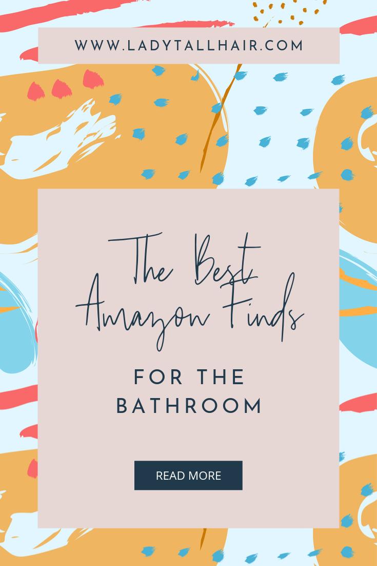 best amazon bathroom items