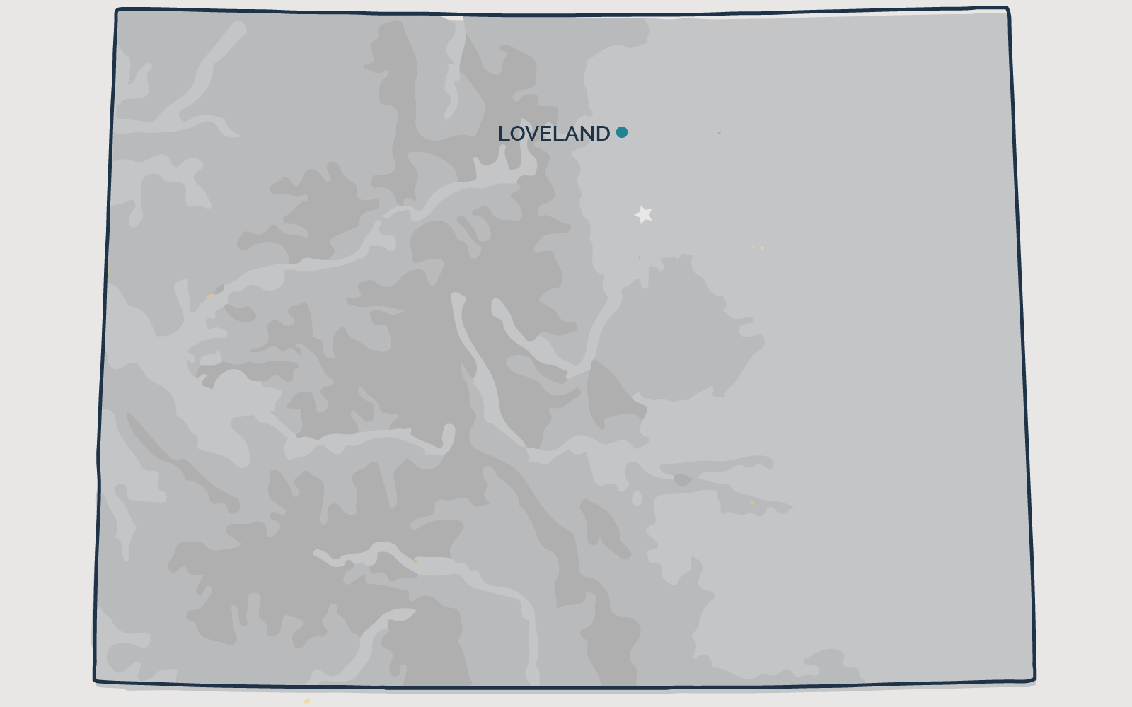 LOVELAND, Colorado - Your health and satisfaction are important to us. We are located in Littleton, Colorado and are pleased to provide our professional, honest, and affordable radon testing and mitigation services to happy and satisfied customers all along the front range of our beautiful State of Colorado.