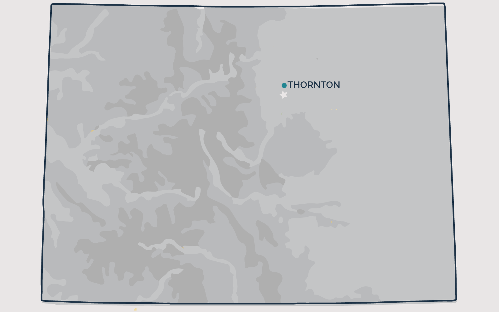 THRONTON, Colorado - Your health and satisfaction are important to us. We are located in Littleton, Colorado and are pleased to provide our professional, honest, and affordable radon testing and mitigation services to happy and satisfied customers all along the front range of our beautiful State of Colorado.