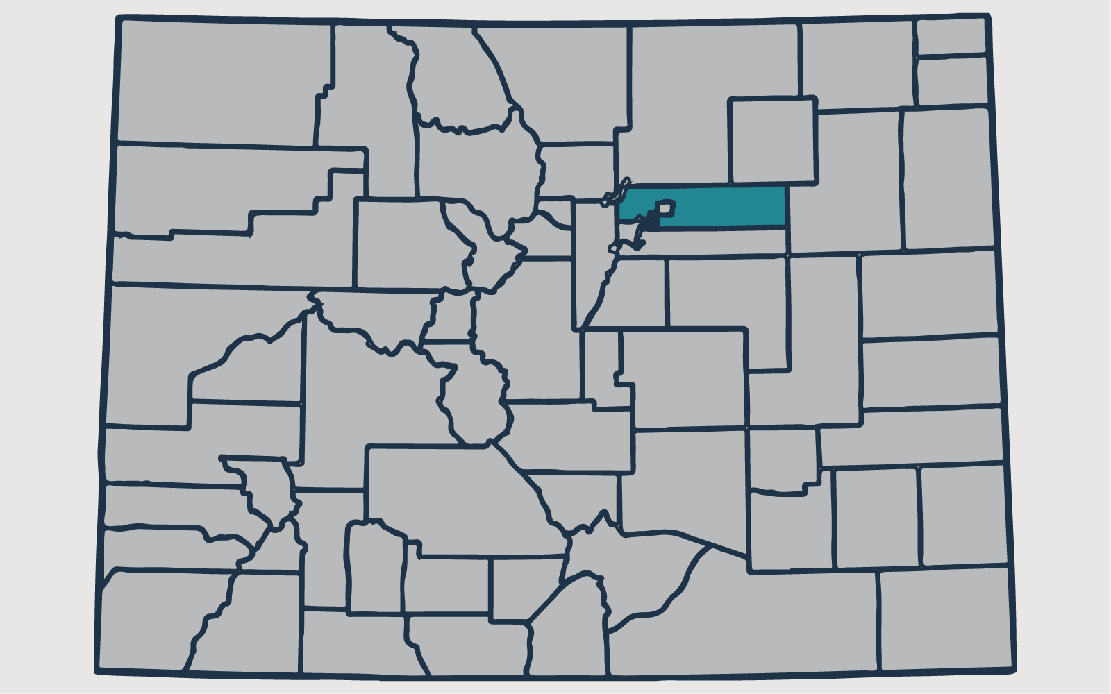 ADAMS COUNTY, Colorado - Your health and satisfaction are important to us. We are located in Littleton, Colorado and are pleased to provide our professional, honest, and affordable radon testing and mitigation services to happy and satisfied customers all along the front range of our beautiful State of Colorado.