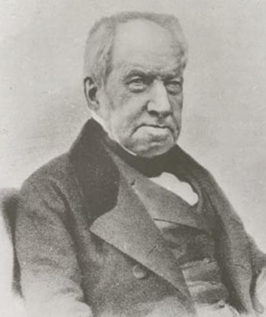 Dr. Robert Brown, discoverer of Brownian motion.
