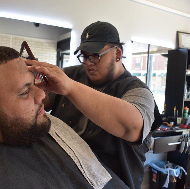 👀👀👀 #barbershop #barbershopconnect #razorwork #beard #fadehaircut #fade #truebarberproducts