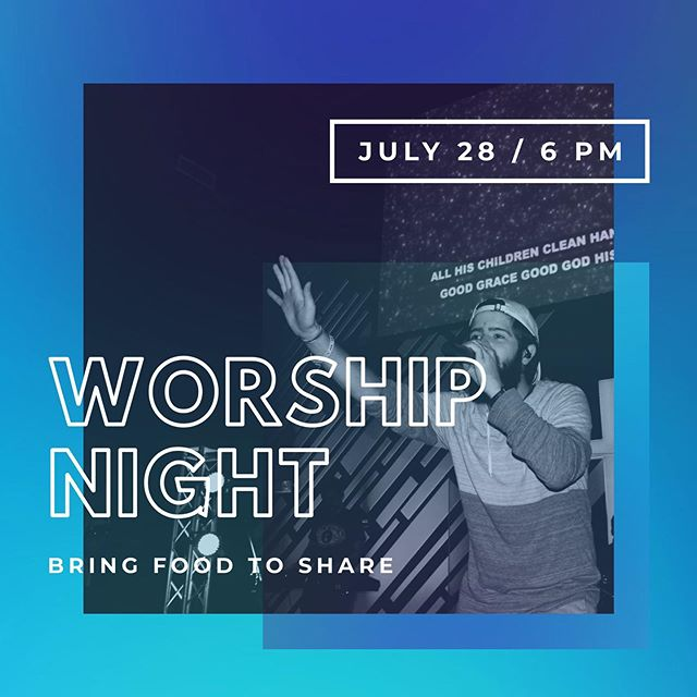The last worship night is THIS SUNDAY! If you haven't been to one yet this Summer, now is the time! You won't want to miss it. We'll have a time of singing songs to our awesome God and a surprise you won't want to miss. We'll also have some food to give us some energy for all the singing 🙌🏻 any snacks brought to be shared would be much appreciated 😋 We're excited to worship with you guys!! #fccjonesboro