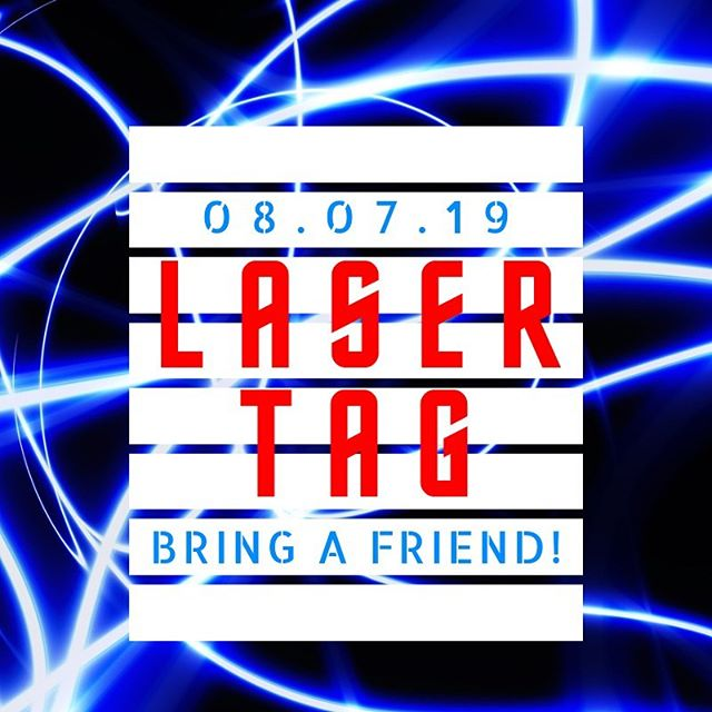 We're kicking off the first Pulse of the season with a game of laser tag ‼️ We'll see you tomorrow night at 6:45. Meet in the youth room to gear up for the game!  #pulsefccj