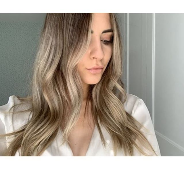 Client selfie 😍 how unreal is her hair. We balayaged  and tones to a natural ash blonde with baby lights using @iconsalonproductsuk by Dan