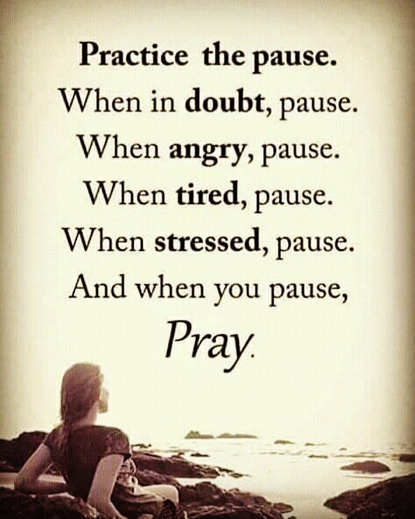 Pause&Pray to get through the Day