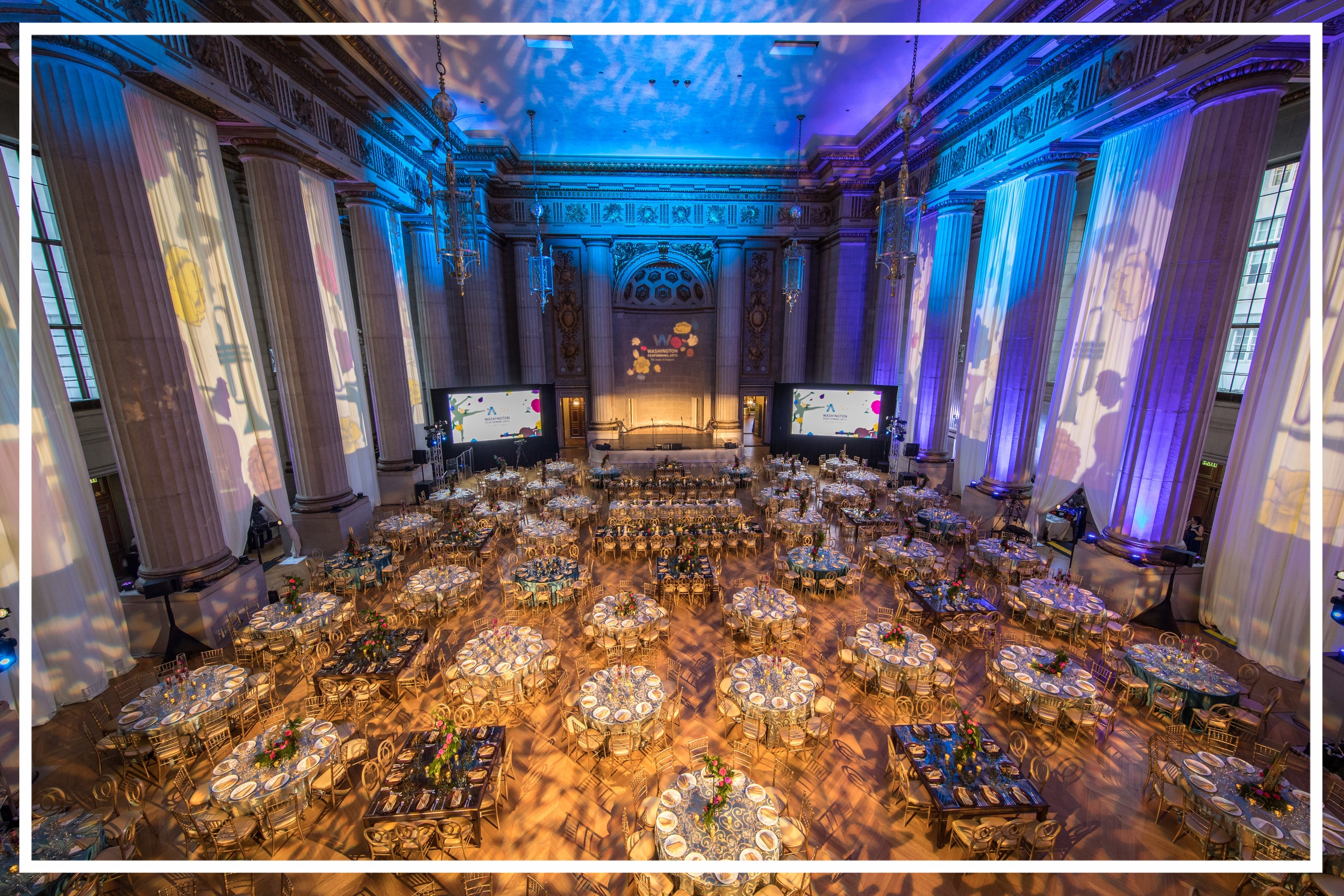 Washington Performing Arts Gala at the Mellon Auditorium