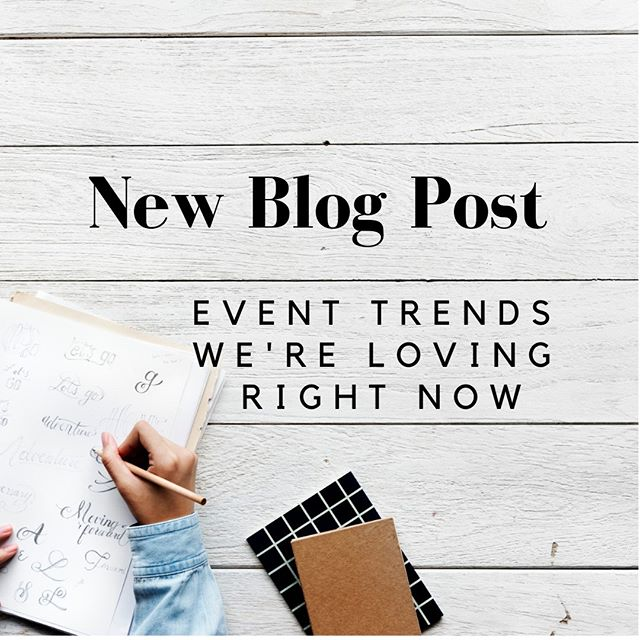 Did you know RJ Whyte has a blog? It's full of tips, updates, and fun stories from our experience in the event production industry! This week we're talking about all of the exciting trends we're looking forward to for 2019's events! Check it out!⠀⠀⠀⠀⠀⠀⠀⠀⠀ ⠀⠀⠀⠀⠀⠀⠀⠀⠀ #linkinbio #blog #blogger #events #eventtrends #dcevents #eventplanner #checkitout