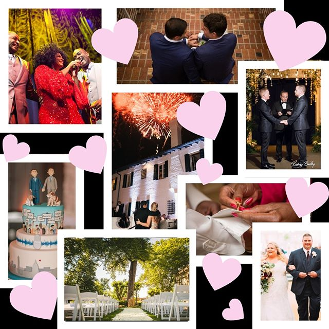 Whether you want fireworks, an indoor enchanted forest, or Diana Ross, our team can give you the wedding of your dreams. Wishing everyone a happy Valentine's Day full of love! #wedding #event #weddingplanner #eventproducer #dcevents #valentinesday #love #hearts #party #loveislove #gayweddings #brides #groom