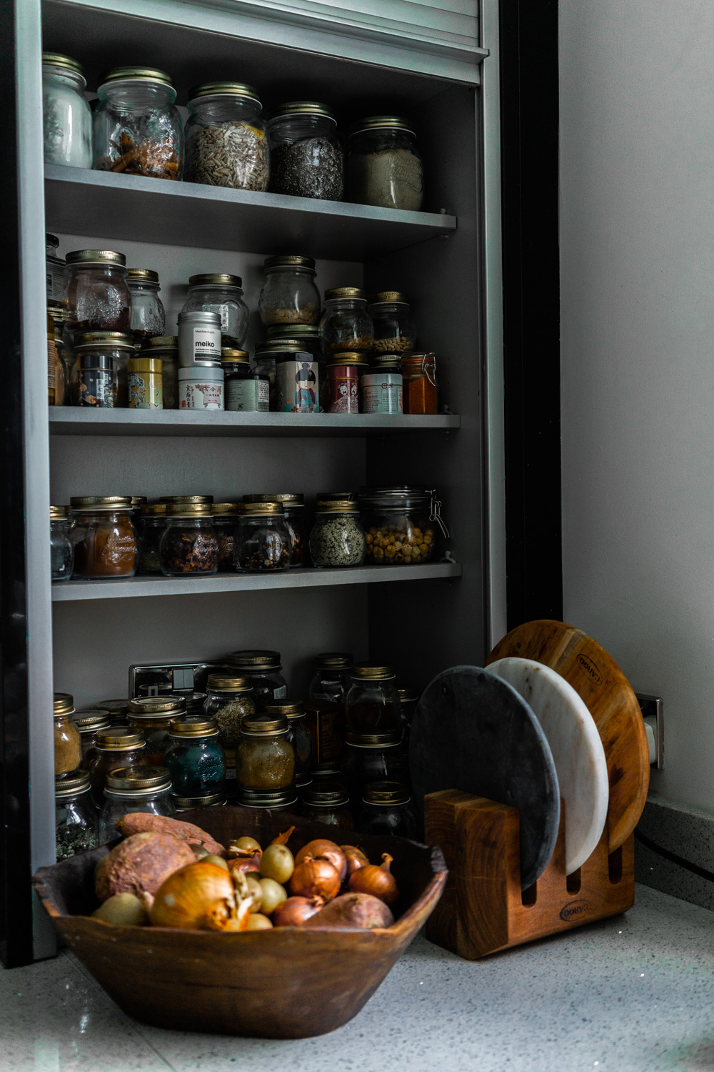 My crazy kitchen pantry…
