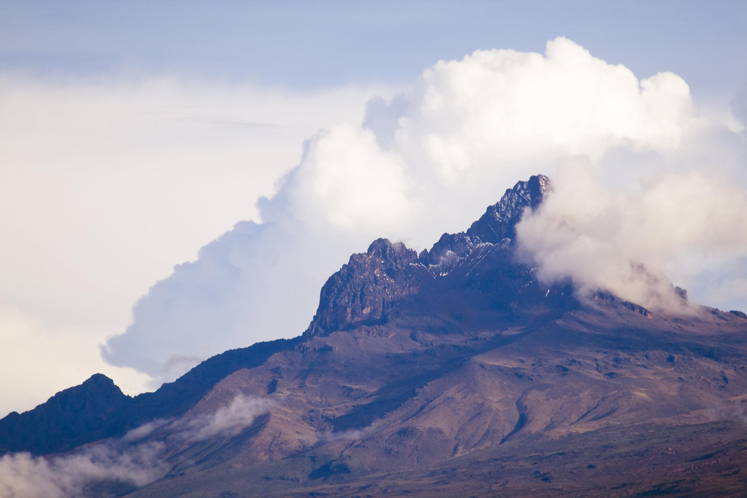Mount Kilimanjaro, Mawenzi