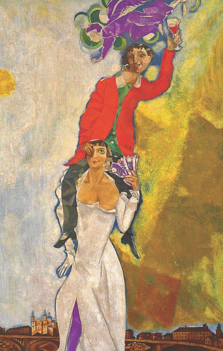 And what it's like for Chagall to be in love!